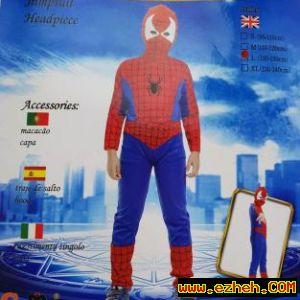 لباس اسپایدرمن عضلانی (مرد عنکبوتی)
