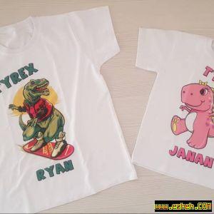 تی شرت دایناسور