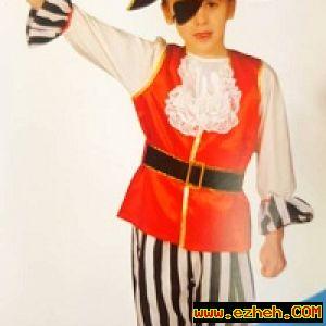 لباس دزددریایی پسرانه 4