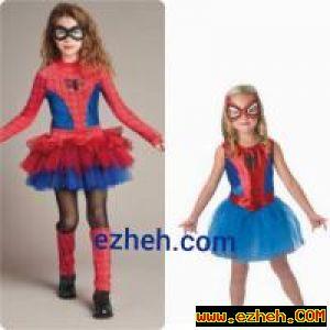 لباس زن عنکبوتی