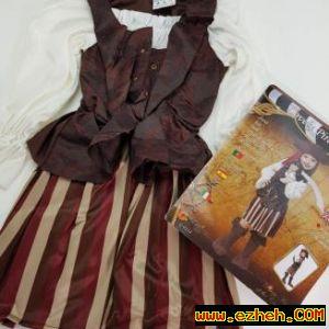 لباس دزددریایی دختر 3