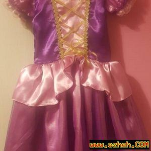 لباس راپونزل
