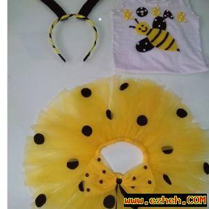لباس زنبور مدل توتو