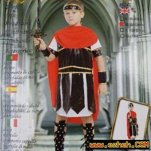 لباس گلادیاتور   جنگجوی رومی