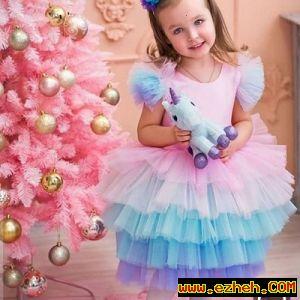 لباس یونیکورن مدل پرنسس