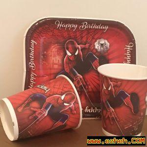 پیش دستی تم اسپایدرمن ( مرد عنکبوتی)