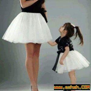ست مادر و کودک مدل سیاه سفید