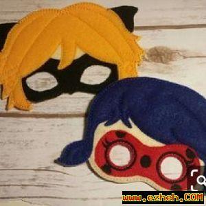 ماسک دختر کفشدوزکی