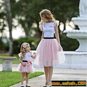 لباس ست مادر دختر باربی
