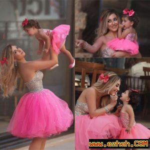 لباس ست مادر و دختر توتو
