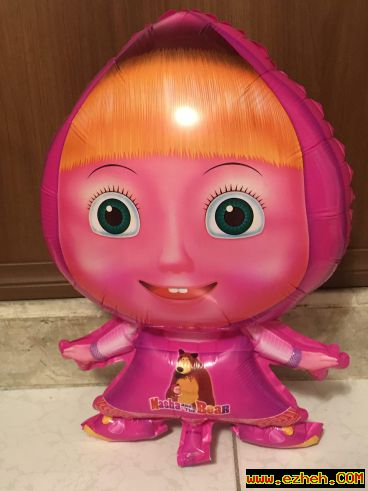 بادکنک عروسکی ماشا