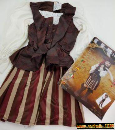 لباس دزددریایی دختر 2