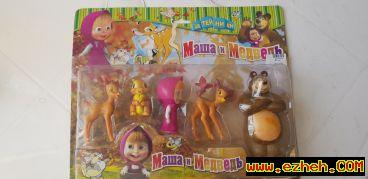 عروسک فیگور تم تولد ماشا و میشا